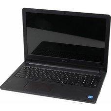 "Ноутбук DELL Inspiron 3552, 15.6"", Intel Celeron N3060 1.6ГГц, 4Гб, 500Гб, Intel HD Graphics 400, DVD-RW, Ubuntu, 3552-0507, черный"