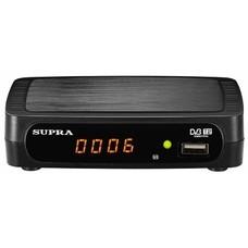 Ресивер DVB-T2 SUPRA SDT-85, черный