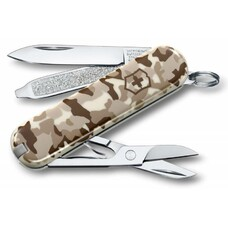 Складной нож VICTORINOX Classic, 7 функций, 58мм, камуфляж пустыни [0.6223.941]