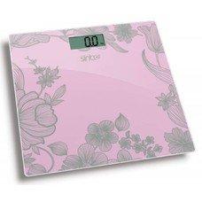 Напольные весы SINBO SBS 4429, до 180кг, цвет: розовый