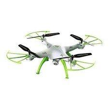 Квадрокоптер SYMA X5HW с камерой,  белый [x5hw white-green]