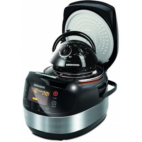 Мультиварка REDMOND RMK-M911, 860Вт, серебристый/черный