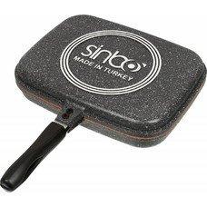 Сковорода-гриль SINBO SP 5218, 32х24см, серый