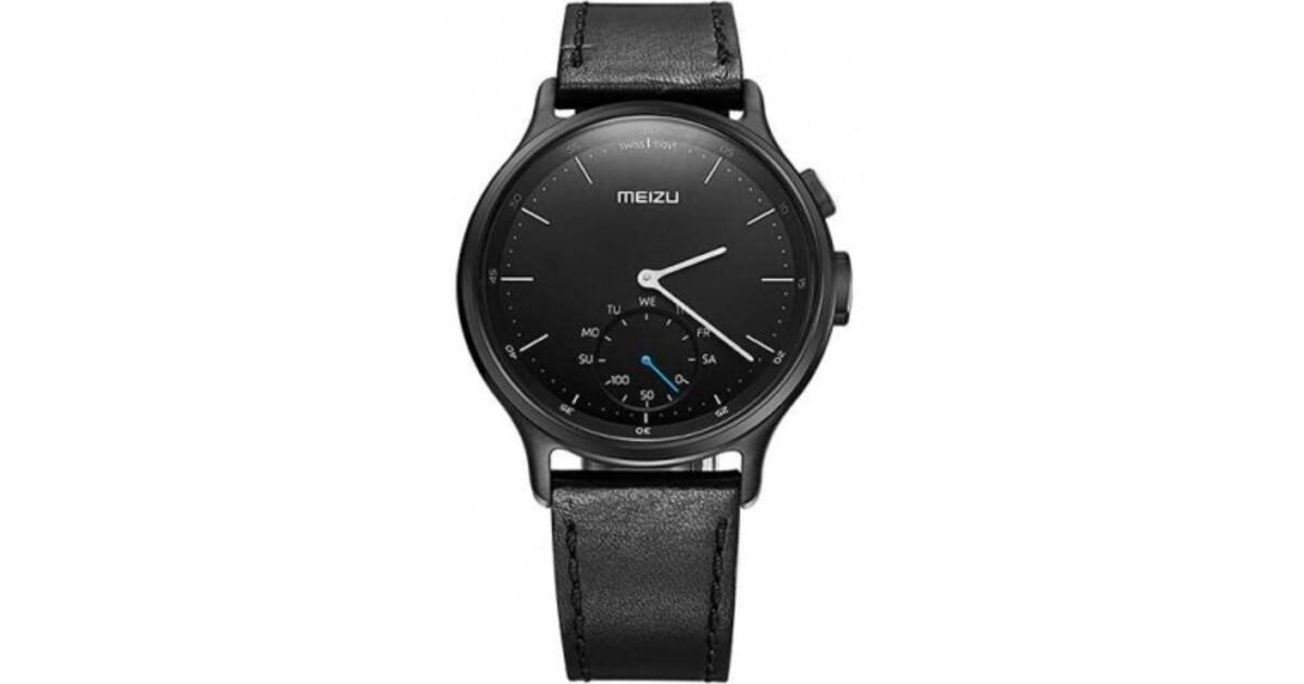 Водонепроницаемые смарт-часы meizu mix r20 steel оснащены встроенным гироскопом, цифровым компасом, датчиком наклона и светодиодной индикацией.