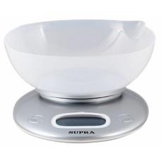 Весы кухонные SUPRA BSS-4022, белый [10897]