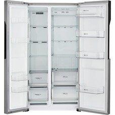 Холодильник LG GC-B247JMUV, двухкамерный, нержавеющая сталь