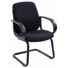 Кресло БЮРОКРАТ CH-808-Low-V, на полозьях, ткань [ch-808-low-v/black]