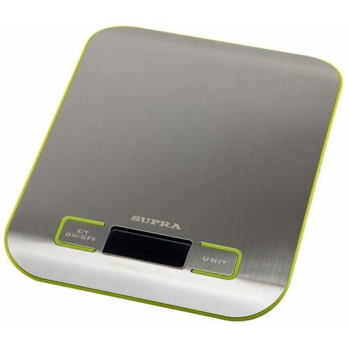 Весы кухонные SUPRA BSS-4075, серебристый