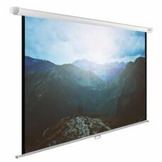 Экран Cactus 240x240см WallExpert CS-PSWE-240x240-WT 1:1 настенно-потолочный рулонный