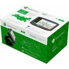 "GPS навигатор NAVITEL N400, 4.3"", авто, 4Гб, Navitel, серый"