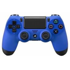 Беспроводной контроллер SONY Dualshock 4 v2 (CUH-ZCT2E), для PlayStation 4, синий [ps719894155]