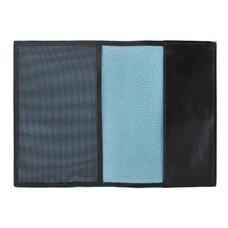Обложка для паспорта Piquadro Blue Square AS300B2/N черный натур.кожа