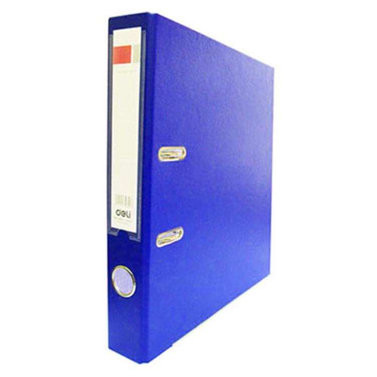 Регистратор А4 50 мм ПВХ темно-синий арт. 39593с