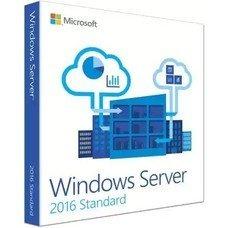 Операционная система MICROSOFT Windows Server 2016 Standard, 64 bit, Rus, BOX, DVD [p73-07059]