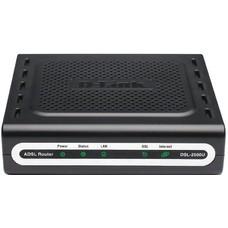 Маршрутизатор D-Link DSL-2500U/BA ADSL черный