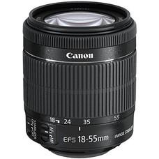 Объектив CANON 18-55mm f/3.5-5.6 EF-S IS STM, Canon EF-S, черный [8114b005]