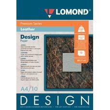 Фотобумага Lomond 0917141 A4/230г/м2/10л./белый матовое кожа для струйной печати