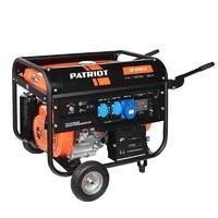 Бензиновый генератор PATRIOT GP 6510LE, 220 В, 5.5кВт [474101570]