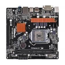 Материнская плата ASROCK H110M-DGS R3.0, LGA 1151, Intel H110, mATX, Ret