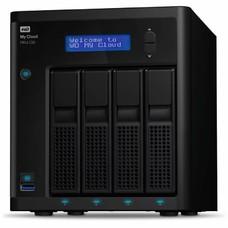 Сетевое хранилище NAS WD Original 8Tb WDBKWB0080KBK-EEUE MY CLOUD PR4100 4xDisk 4-bay