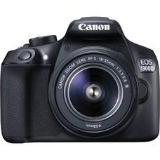 Зеркальный фотоаппарат CANON EOS 1300D KIT kit ( 18-55mm f/3.5-5.6 DC III), черный