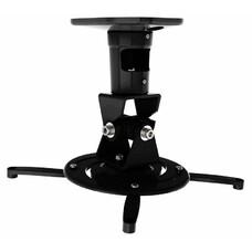 Кронштейн для проектора Cactus CS-VM-PR01-BK черный макс.10кг настенный и потолочный поворот и накло