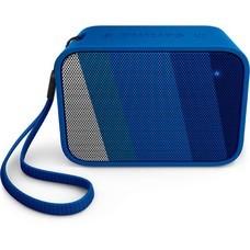 Колонка порт. Philips BT110 синий 4W Mono BT/3.5Jack 20м 800mAh (BT110A/00)