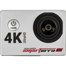 Экшн-камера SMARTERRA B3+ UHD 4K, серебристый [bsb3psl]
