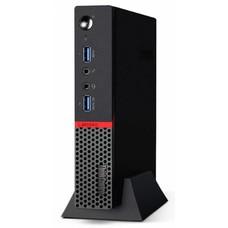 Компьютер LENOVO ThinkCentre M600 TINY, Intel Pentium J3710, DDR3 4Гб, 128Гб(SSD), Intel HD Graphics 405, Windows 10, черный [10g9001kru]