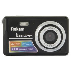 Цифровой фотоаппарат REKAM iLook S959i, темно-серый [1108005132]