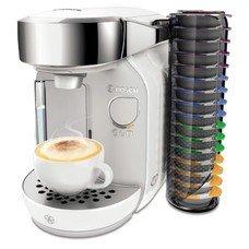 Капсульная кофеварка BOSCH Tassimo TAS7004, 1300Вт, цвет: белый
