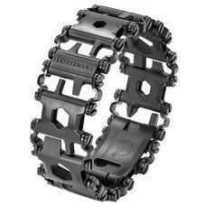 Браслет многофункц. Leatherman TREAD METRIC (832324) черный подар.коробка