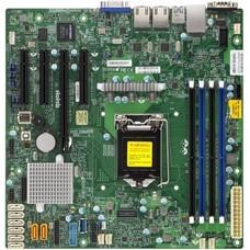 Серверная материнская плата SUPERMICRO MBD-X11SSM-F-B, bulk