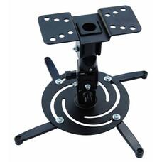 Кронштейн для проектора Cactus CS-VM-PR04-BK черный макс.10кг настенный и потолочный поворот и накло