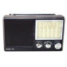 Радиоприемник СИГНАЛ Эфир-03, черный [16794]