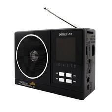 Радиоприемник СИГНАЛ Эфир-10, черный