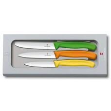 Набор ножей Victorinox (6.7116.31G) стальной лезв.110мм ассорти подар.коробка