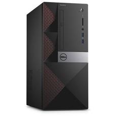 Компьютер DELL Vostro 3667, Intel Core i3 6100, DDR4 4Гб, 1000Гб, NVIDIA GeForce GT710 - 2048 Мб, CR, Linux, черный [3667-0772]