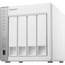Сетевое хранилище QNAP D4, без дисков