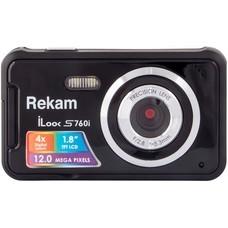 Цифровой фотоаппарат REKAM iLook S760i, черный [1108005125]