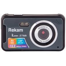 Цифровой фотоаппарат REKAM iLook S760i, темно-серый [1108005126]