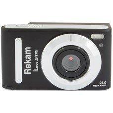 Цифровой фотоаппарат REKAM iLook S970i, черный [1108005140]