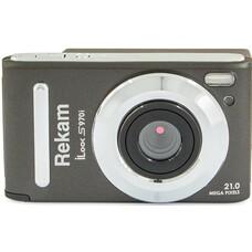 Цифровой фотоаппарат REKAM iLook S970i, темно-серый [1108005141]