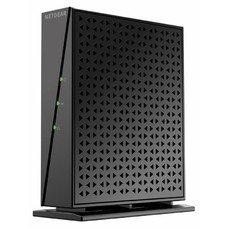 Модем NETGEAR DM200-100EUS xDSL, внешний, черный