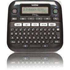 Принтер Brother P-touch PT-D210 стационарный черный [ptd210r1]