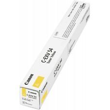 Тонер CANON C-EXV54Y, для C3025i, желтый, туба