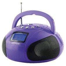 Аудиомагнитола HYUNDAI H-PAS100, фиолетовый