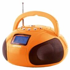 Аудиомагнитола HYUNDAI H-PAS120, оранжевый