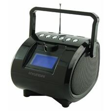 Аудиомагнитола HYUNDAI H-PAS180, черный