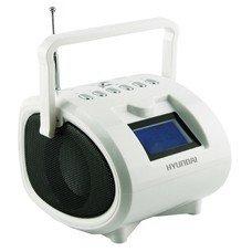 Аудиомагнитола HYUNDAI H-PAS200, белый